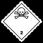 luokka 2; alaluokka 2.3 myrkylliset kaasut