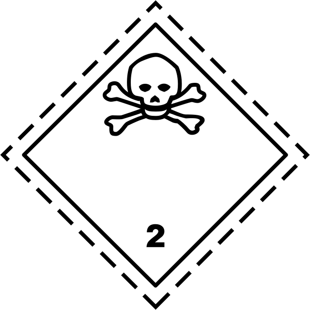luokka 2.3 myrkylliset kaasut